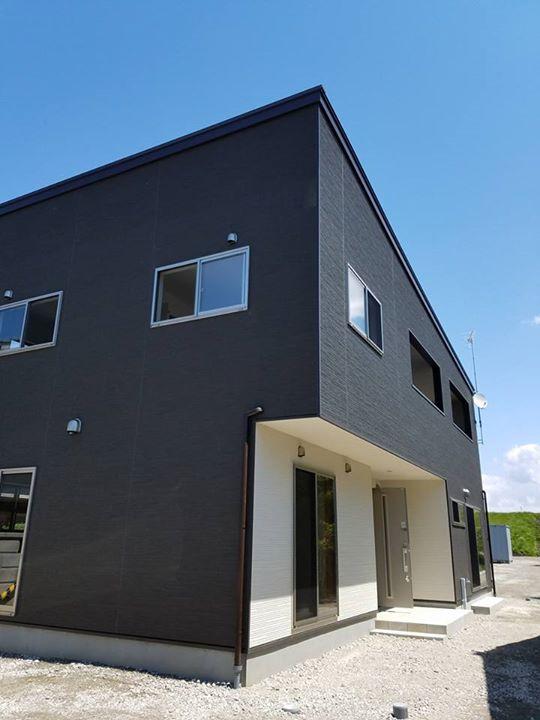 昨日、オープンハウスで大好評の江南区M様邸が無事引渡しを迎える事となりました!(外観写真)